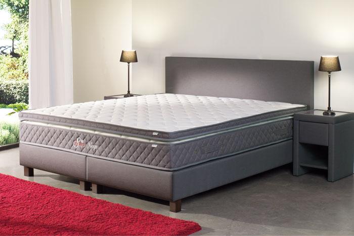 set hotelbox harmony inclusief matras en topper
